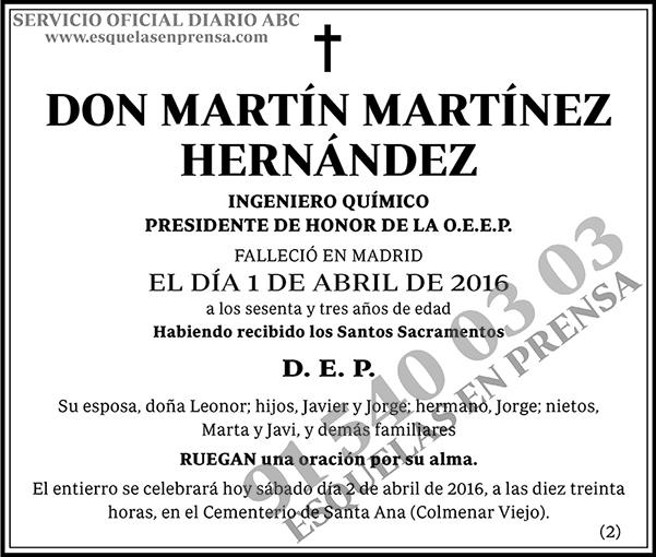 Martín Martínez Hernández